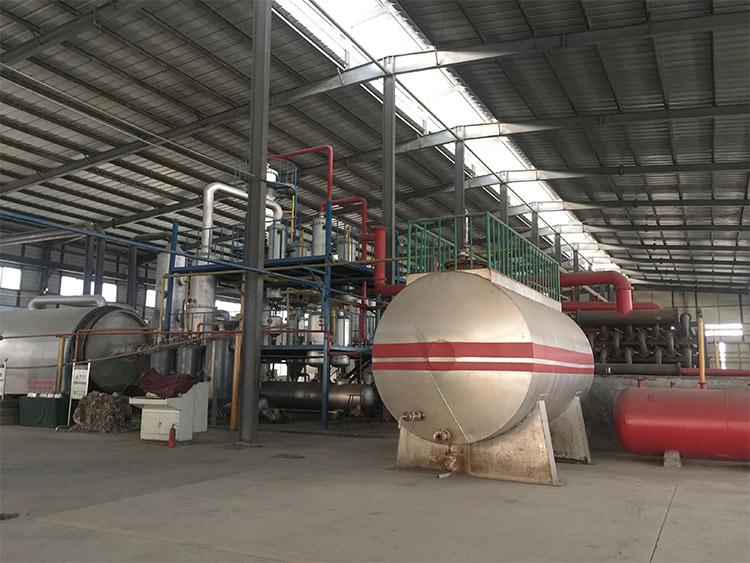 原油煉(lian)油設備
