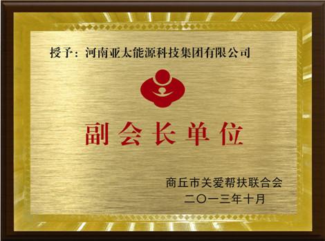 商丘(qiu)關愛(ai)幫扶聯(lian)合會副(fu)會長單位